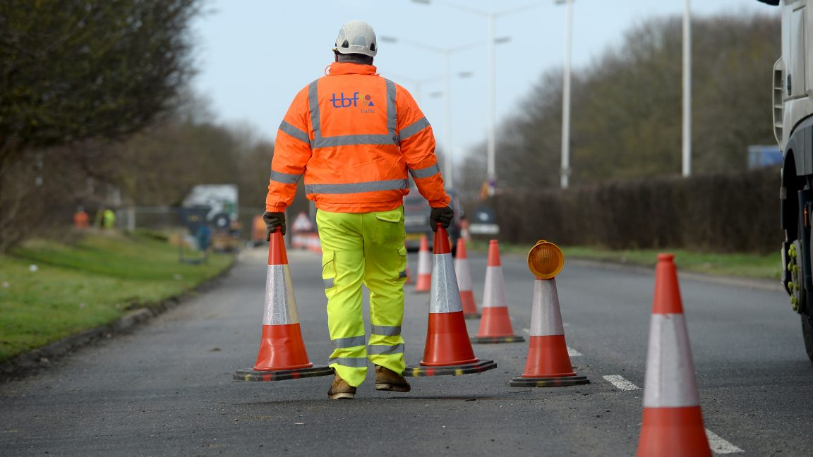 traffic management services Peterborough. Skanska