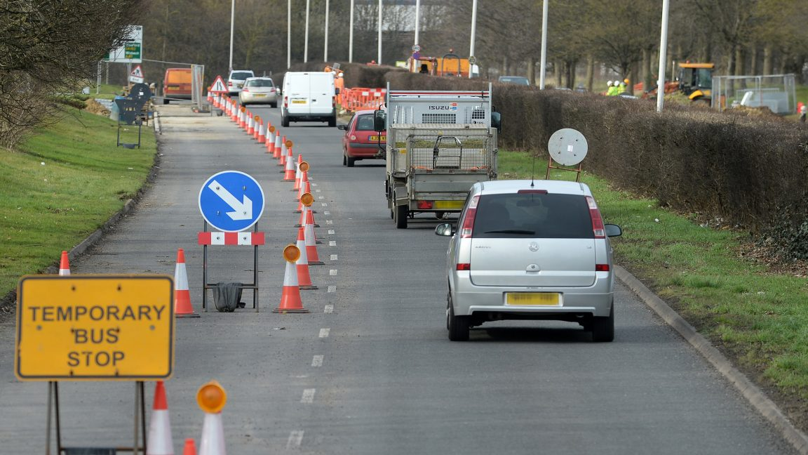 traffic management services peterborough for Skanska