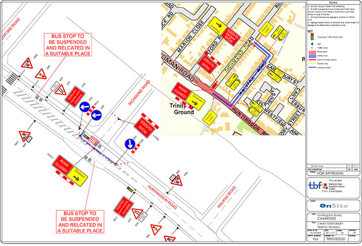 event traffic management plans