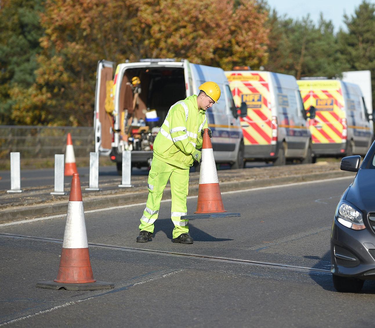 Cambridgeshire Traffic Management Background Image
